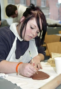 markmaking in clay