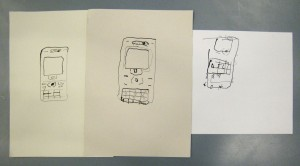 phone drawings