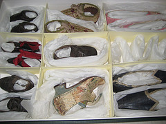 Shoes including two pairs from Mary's collection