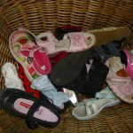 Chris's shoe basket