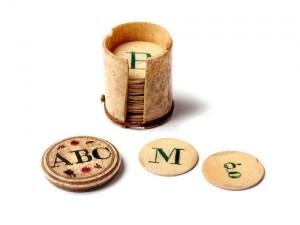 1922.534 Alphabet counters