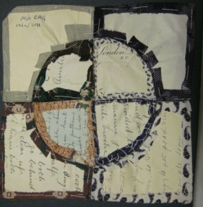 Discovered patchwork pieces October 2010