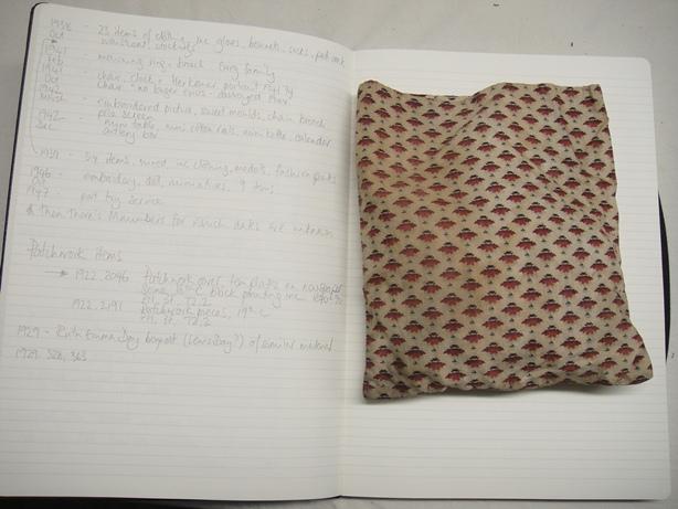Patterned cloth bag